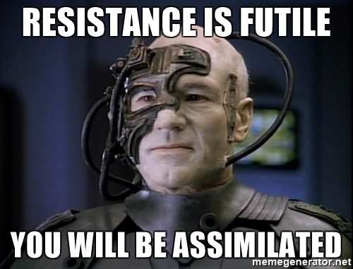 Technology Management Image: Resistance Is Futile: Machines Are Here To Stay, Embrace